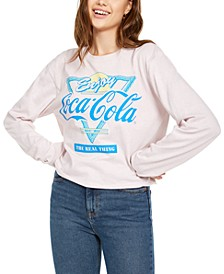 Juniors' Retro Coca-Cola Graphic T-Shirt