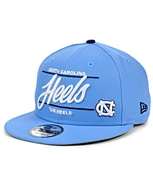 North Carolina Tar Heels Slogan 9FIFTY Snapback Cap
