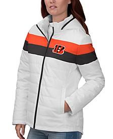 Women's Cincinnati Bengals Tie Breaker Polyfill Jacket