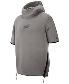 Men's Philadelphia Eagles Player Repel Short Sleeve Hoodie
