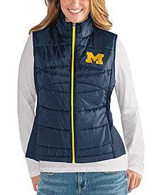 Women's Michigan Wolverines Puffer Vest