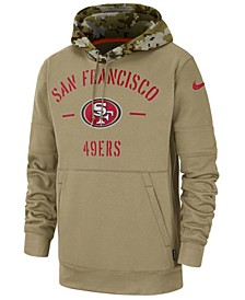 Men's San Francisco 49ers Salute To Service Therma Hoodie