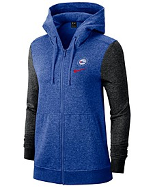 Women's Philadelphia 76ers Full-Zip Club Fleece Jacket
