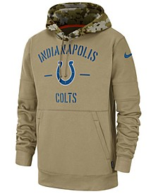 Men's Indianapolis Colts Salute To Service Therma Hoodie