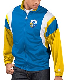 Men's Los Angeles Chargers The Contender Track Jacket
