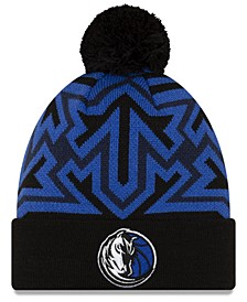 Dallas Mavericks Big Flake Pom Knit Hat