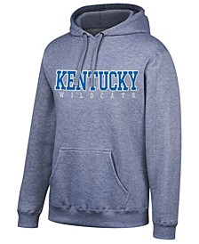 Men's Kentucky Wildcats Stacked Logo Hooded Sweatshirt
