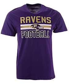 Men's Baltimore Ravens Edge Rush Super Rival T-Shirt