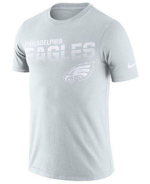 Nike Men's Philadelphia Eagles 100th Anniversary Sideline Legend Line of Scrimmage T-Shirt