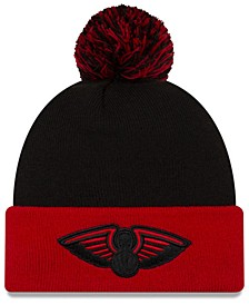 New Orleans Pelicans Black Pop Knit Hat