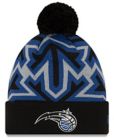 Orlando Magic Big Flake Pom Knit Hat