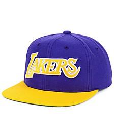 Los Angeles Lakers Wool 2 Tone Snapback Cap