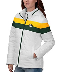 Women's Green Bay Packers Tie Breaker Polyfill Jacket