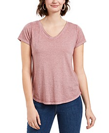 Petite Burnout Top, Created for Macy's