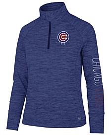 Women's Chicago Cubs Impact Quarter-Zip Pullover