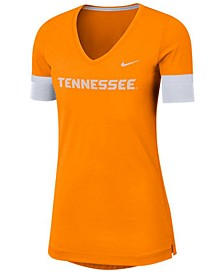 Women's Tennessee Volunteers Fan V-Neck T-Shirt
