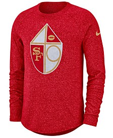 Men's San Francisco 49ers Historic Marled Raglan T-Shirt