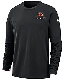 Men's Cincinnati Bengals Dry Top Crew Sweatshirt