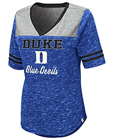 Women's Duke Blue Devils Mr Big V-neck T-Shirt
