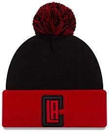 Los Angeles Clippers Black Pop Knit Hat