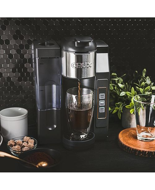 Crux K-Cup Single Serve with Water Tank 14792, Created for Macy's