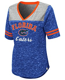 Women's Florida Gators Mr Big V-neck T-Shirt