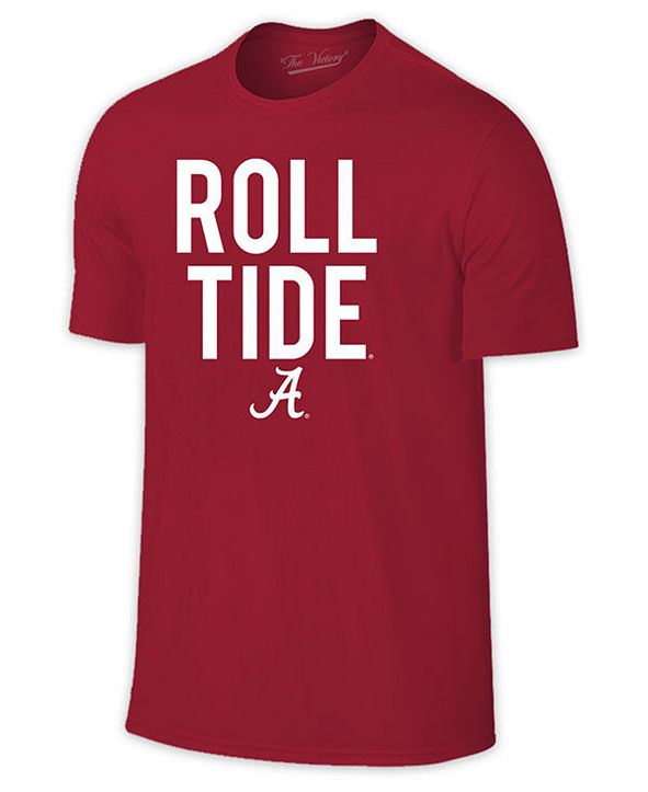 Retro Brand Men's Alabama Crimson Tide Slogan T-Shirt