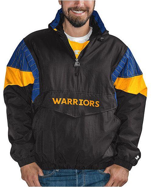 Starter Men's Golden State Warriors Breakaway Pullover Jacket