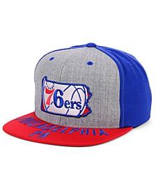 Philadelphia 76ers C-Code Snapback Cap