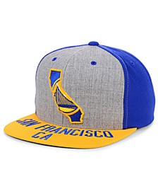 Golden State Warriors C-Code Snapback Cap