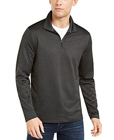 Men's Space Dyed Quarter-Zip Sweater