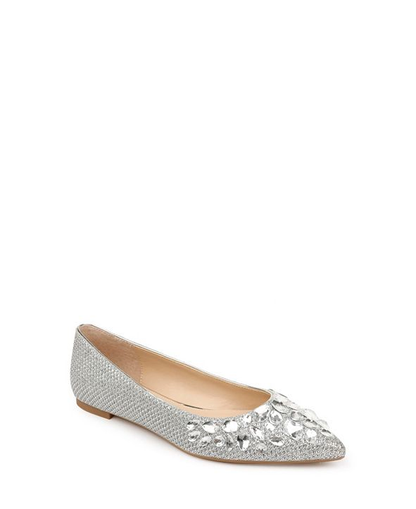 Jewel Badgley Mischka Ulanni Flats
