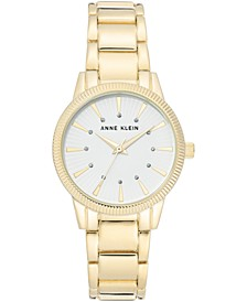 Women's Gold-Tone Bracelet Watch 32mm