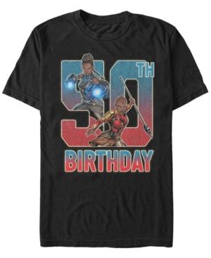 Fifth Sun Men's Marvel Black Panther Shuri and Okoye 50th Birthday Short Sleeve T-Shirt