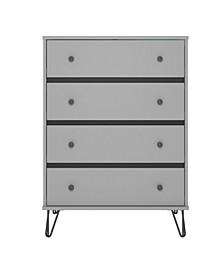 Novogratz Owen 4 Drawer Dresser