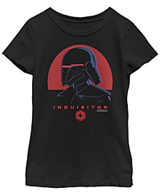 Big Girls Jedi Fallen Order Red Sun inquisitor Short Sleeve T-Shirt