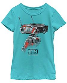 Big Girls Jedi Fallen Order Droid BD-1 Short Sleeve T-Shirt