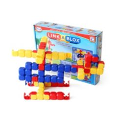 Popular Playthings Linkablox Construction Toy - 60 Piece