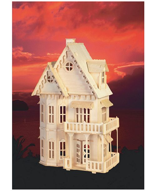 Puzzled Gothic House Wood Puzzle