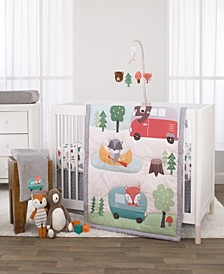 Retro Camper 3-Piece Crib Bedding Set