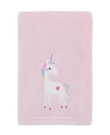 Rainbow Unicorn Baby Blanket