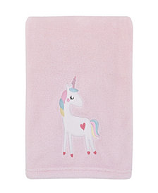 Little Love by Nojo Rainbow Unicorn Baby Blanket