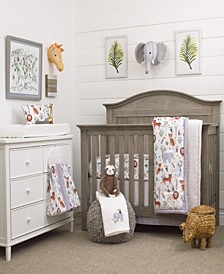 Growing Wild 8-Piece Crib Bedding Set