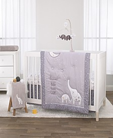 Nojo Dream Big Little Elephant 3-Piece Crib Bedding Set