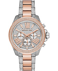 Women's Chronograph Wren Two-Tone Stainless Steel Bracelet Watch 42mm
