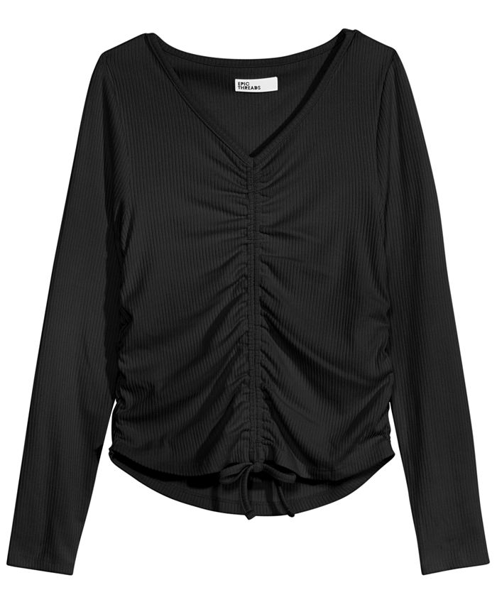 Epic Threads - Big Girls Ruched Top