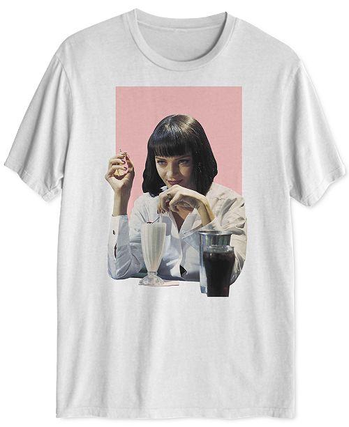 Hybrid Mia Wallace Men's Graphic T-Shirt