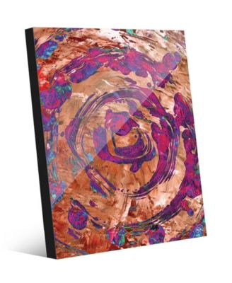 "Dream Catcher's Dream in Magenta Abstract 24"" x 36"" Acrylic Wall Art Print"