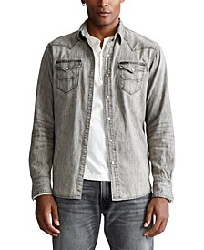 Men's Big & Tall Classic Fit Western Shirt