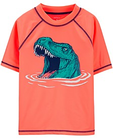 Little & Big Boys Dinosaur Rash Guard